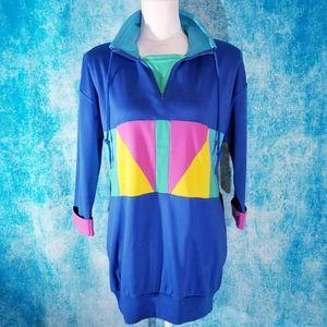 VTG 80s Deadstock Rafael Colorblock Sweatshirt